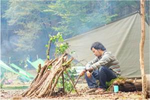 大人のためのブッシュクラフトキャンプ