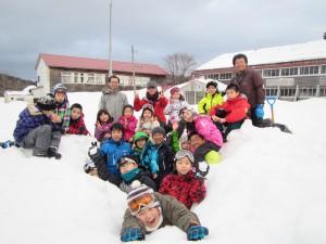 雪で!たき火で!!遊ぼうキャンプ