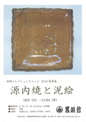 柏崎コレクションビレッジ黒船館 2019秋季展 源内焼と泥絵